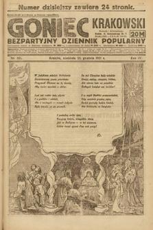 Goniec Krakowski : bezpartyjny dziennik popularny. 1921, nr351
