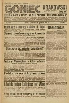 Goniec Krakowski : bezpartyjny dziennik popularny. 1921, nr353