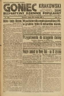 Goniec Krakowski : bezpartyjny dziennik popularny. 1921, nr354