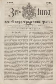 Zeitung des Großherzogthums Posen. 1844, № 228 (28 September) + dod.