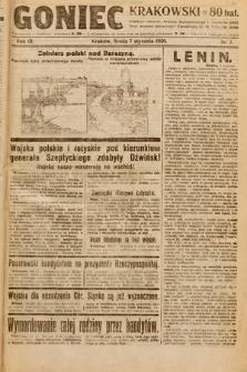 Goniec Krakowski. 1920, nr7