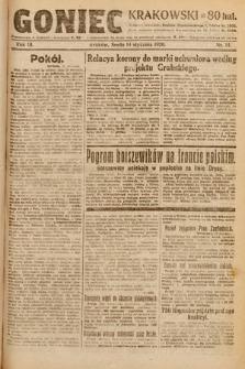 Goniec Krakowski. 1920, nr14