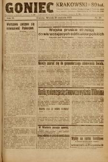 Goniec Krakowski. 1920, nr20