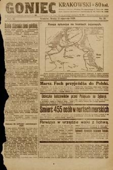 Goniec Krakowski. 1920, nr21