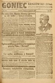 Goniec Krakowski. 1920, nr31