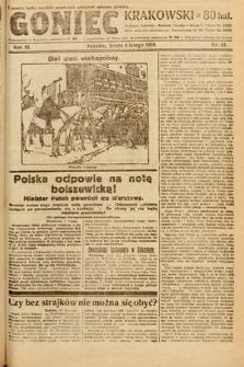 Goniec Krakowski. 1920, nr34