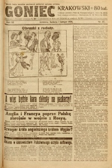 Goniec Krakowski. 1920, nr37