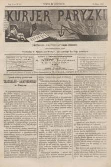 Kurjer Paryzki : dwutygodnik polityczny- literacki- społeczny : organ patrjotyczny polski. R.3, Nº 41 (15 maja 1883)