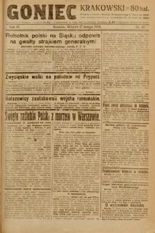 Goniec Krakowski. 1920, nr47