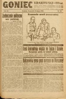 Goniec Krakowski. 1920, nr49