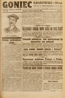 Goniec Krakowski. 1920, nr51