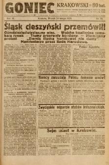 Goniec Krakowski. 1920, nr54