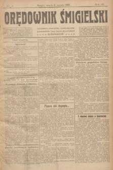 Orędownik Śmigielski. R.32, nr 2 (3 stycznia 1922)