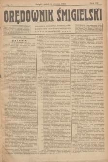 Orędownik Śmigielski. R.32, nr 5 (6 stycznia 1922)