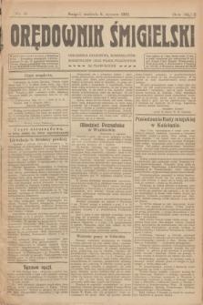Orędownik Śmigielski. R.32, nr 6 (8 stycznia 1922)