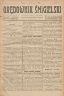 Orędownik Śmigielski. R.32, nr 7 (10 stycznia 1922)
