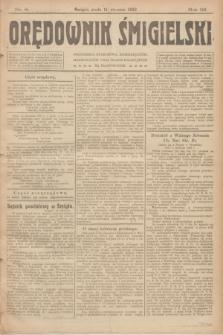 Orędownik Śmigielski. R.32, nr 8 (11 stycznia 1922)