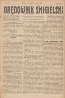 Orędownik Śmigielski. R.32, nr 9 (12 stycznia 1922)