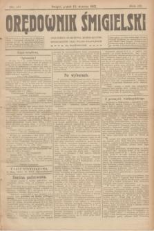 Orędownik Śmigielski. R.32, nr 10 (13 stycznia 1922)