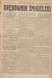 Orędownik Śmigielski. R.32, nr 17 (21 stycznia 1922)