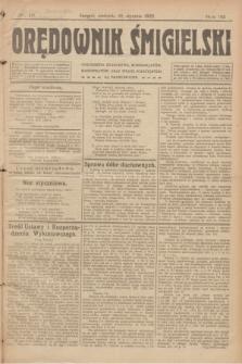 Orędownik Śmigielski. R.32, nr 18 (22 stycznia 1922)