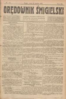 Orędownik Śmigielski. R.32, nr 20 (25 stycznia 1922)