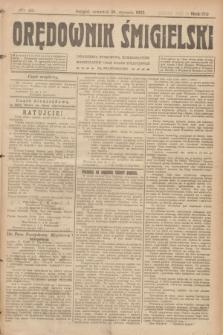Orędownik Śmigielski. R.32, nr 21 (26 stycznia 1922)