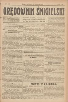 Orędownik Śmigielski. R.32, nr 24 (29 stycznia 1922)