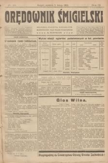 Orędownik Śmigielski. R.32, nr 29 (5 lutego 1922)