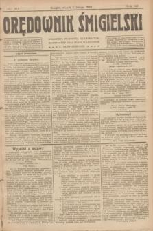Orędownik Śmigielski. R.32, nr 30 (7 lutego 1922)
