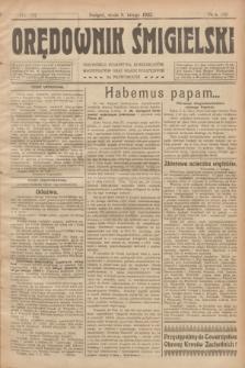 Orędownik Śmigielski. R.32, nr 31 (8 lutego 1922)