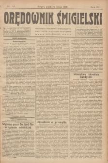 Orędownik Śmigielski. R.32, nr 33 (10 lutego 1922)