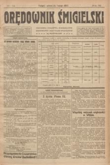 Orędownik Śmigielski. R.32, nr 34 (11 lutego 1922)