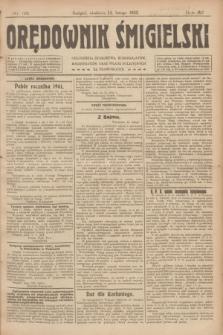 Orędownik Śmigielski. R.32, nr 35 (12 lutego 1922)