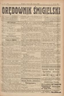 Orędownik Śmigielski. R.32, nr 36 (14 lutego 1922)