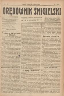 Orędownik Śmigielski. R.32, nr 40 (18 lutego 1922)