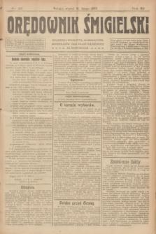 Orędownik Śmigielski. R.32, nr 42 (21 lutego 1922)