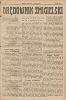 Orędownik Śmigielski. R.32, nr 50 (2 marca 1922)