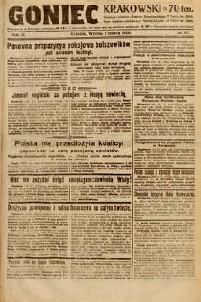 Goniec Krakowski. 1920, nr61