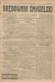 Orędownik Śmigielski. R.32, nr 51 (3 marca 1922)