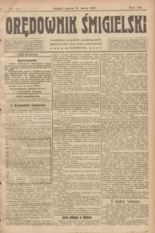 Orędownik Śmigielski. R.32, nr 57 (10 marca 1922)