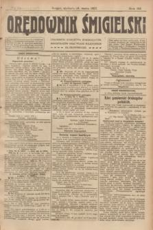 Orędownik Śmigielski. R.32, nr 71 (26 marca 1922)