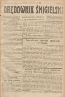 Orędownik Śmigielski. R.32, nr 76 (1 kwietnia 1922)
