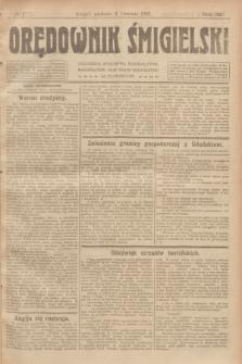 Orędownik Śmigielski. R.32, nr 77 (2 kwietnia 1922)