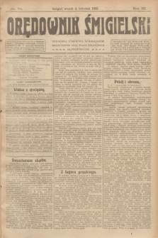 Orędownik Śmigielski. R.32, nr 78 (4 kwietnia 1922)