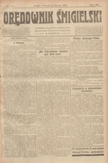 Orędownik Śmigielski. R.32, nr 80 (6 kwietnia 1922)