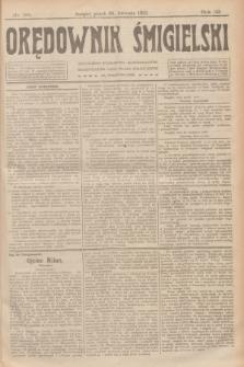 Orędownik Śmigielski. R.32, nr 98 (28 kwietnia 1922)