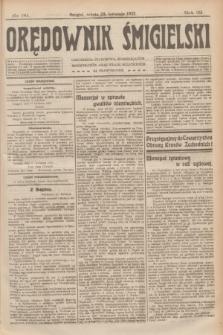 Orędownik Śmigielski. R.32, nr 99 (29 kwietnia 1922)