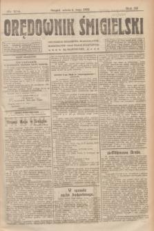 Orędownik Śmigielski. R.32, nr 104 (6 maja 1922)