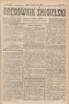 Orędownik Śmigielski. R.32, nr 112 (16 maja 1922)